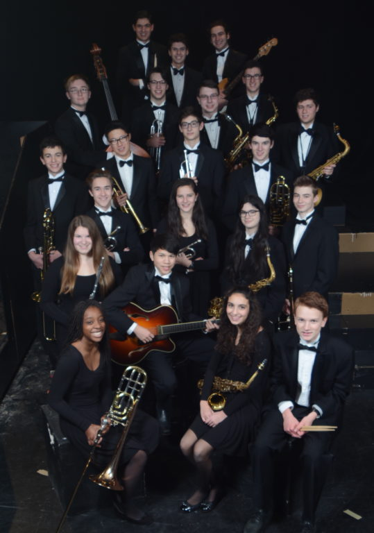 Hall High School Concert Jazz Band. Photo credit: Edwin DeGroat