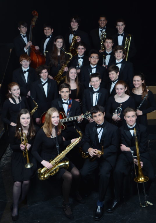 Hall High School Jazz Band. Photo credit: Edwin DeGroat