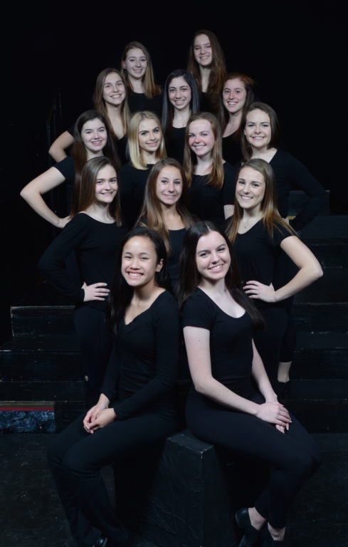 Hall High School Jazz Dancers. Photo credit: Edwin DeGroat