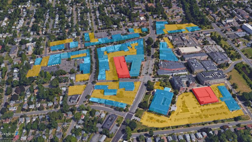 West Hartford's central business district. Town of West Hartford image
