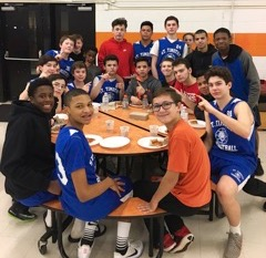 St. Timothy Middle School and American School for the Deaf basketball game. Feb. 15, 2017. Submitted photo