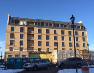 The Delamar West Hartford Hotel is projected to open in June. Photo credit: Ronni Newton
