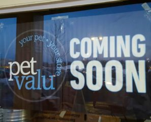 Pet Value will soon open in Corbin's Corner, in the former Payless Shoes location at 1493 New Britain Ave. Photo credit: Debbi Zimbler
