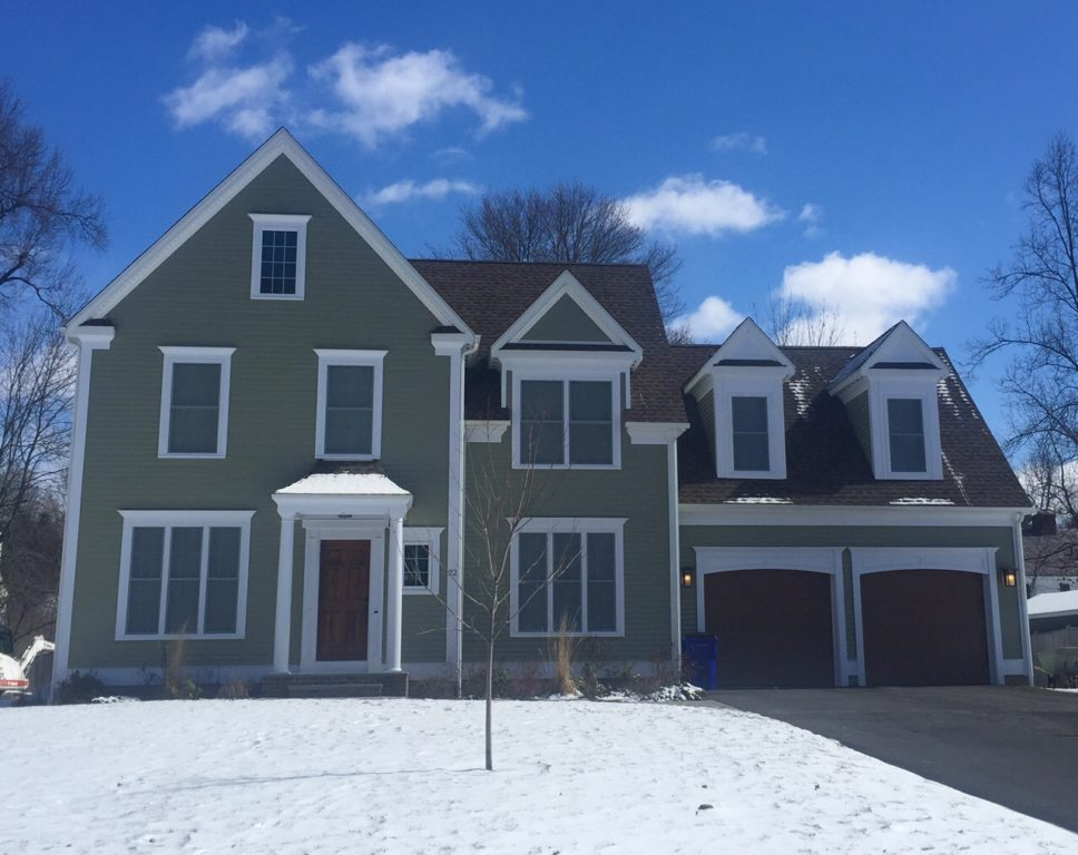 22 Brainard Rd., West Hartford, CT, recently sold for $775,000. Photo credit: Ronni Newton