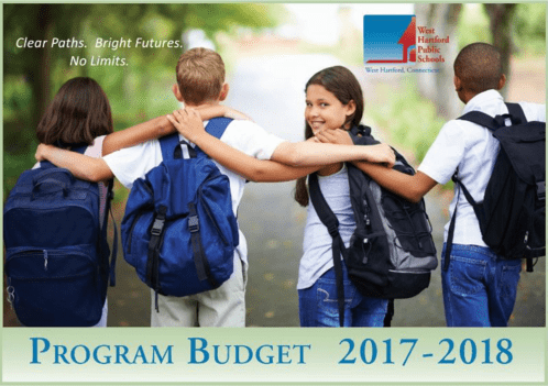 WHPS Budget cover page