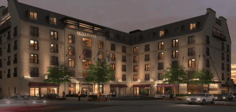 Delamar West Hartford Hotel Reaching Final Stages Of Construction