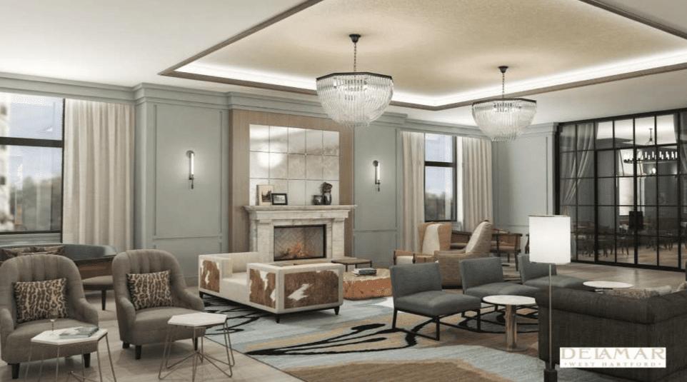 Delamar West Hartford Hotel Lobby Image Courtesy Of