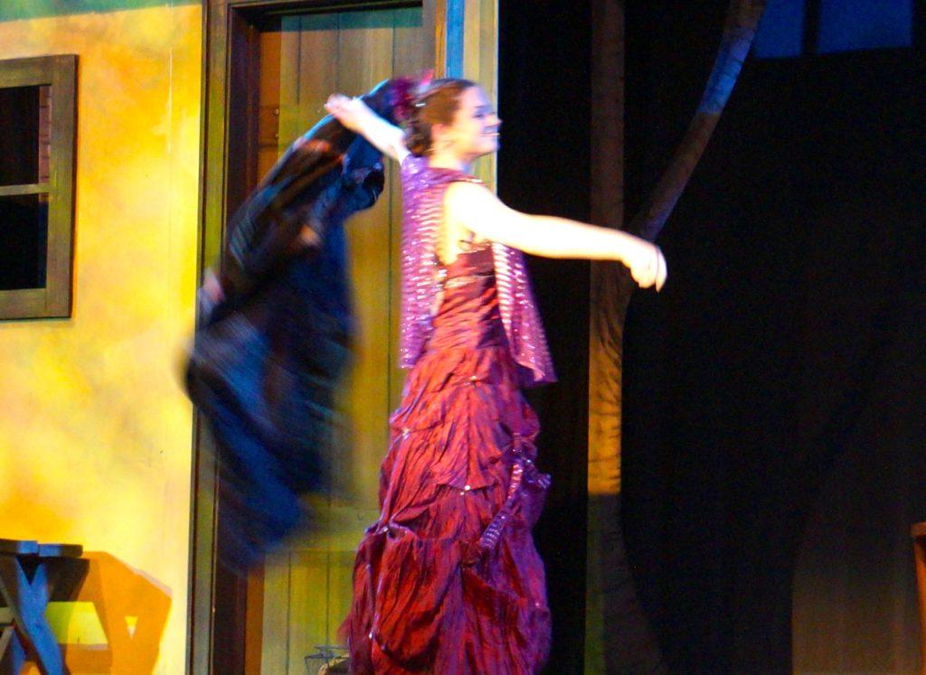 Marie's transformation. Conard High School Musical Productions presents 'Cinderella.' Photo credit: Ronni Newton