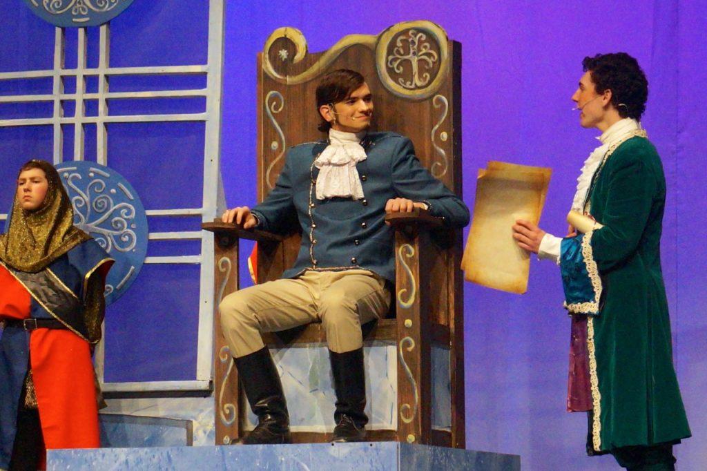 Prince Topher and Sebastian. Conard High School Musical Productions presents 'Cinderella.' Photo credit: Ronni Newton