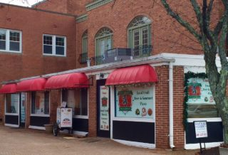 Work is moving along on Vaughan's Pies & Pints, which should open within the next month in West Hartford Center. Photo credit: Ronni Newton