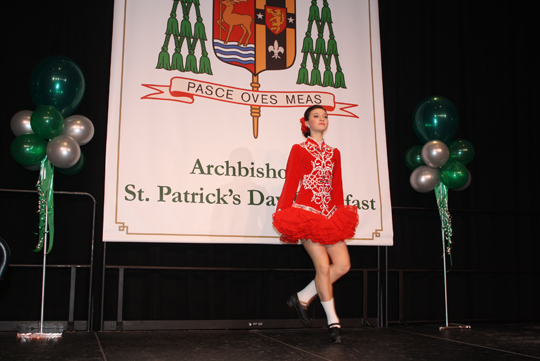 Join FACS for the 2017 Archbishop's St. Patrick's Day Breakfast on March 17th. Courtesy photo