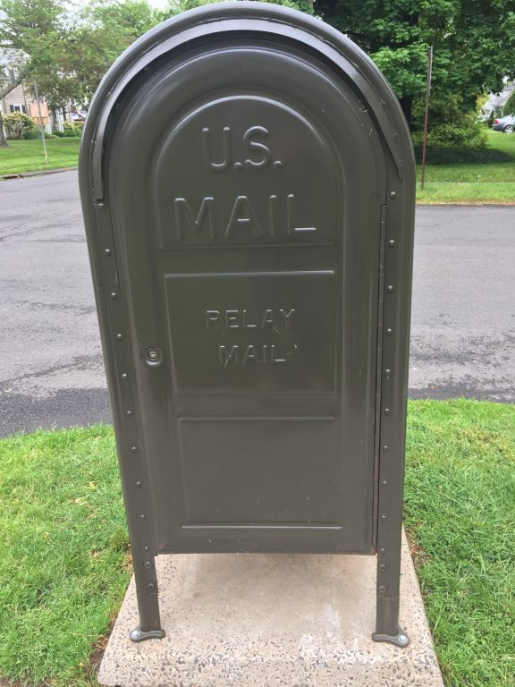Usps Reveals Purpose Behind Green Relay Mailboxes In