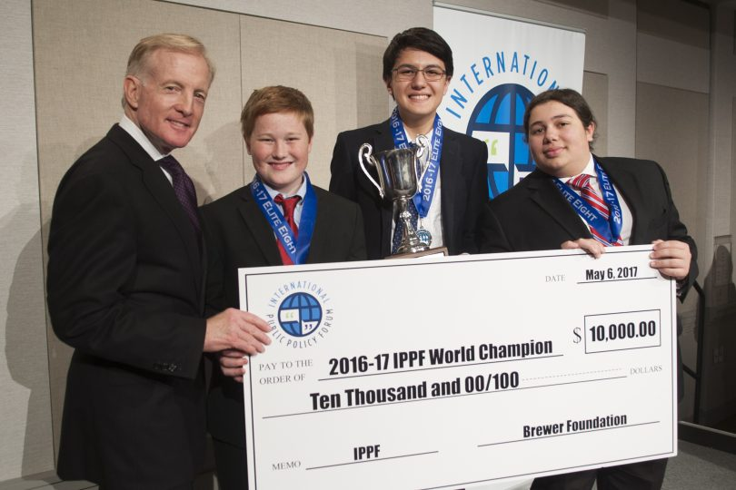 Students from West Hartford's Westfield Academy Win First