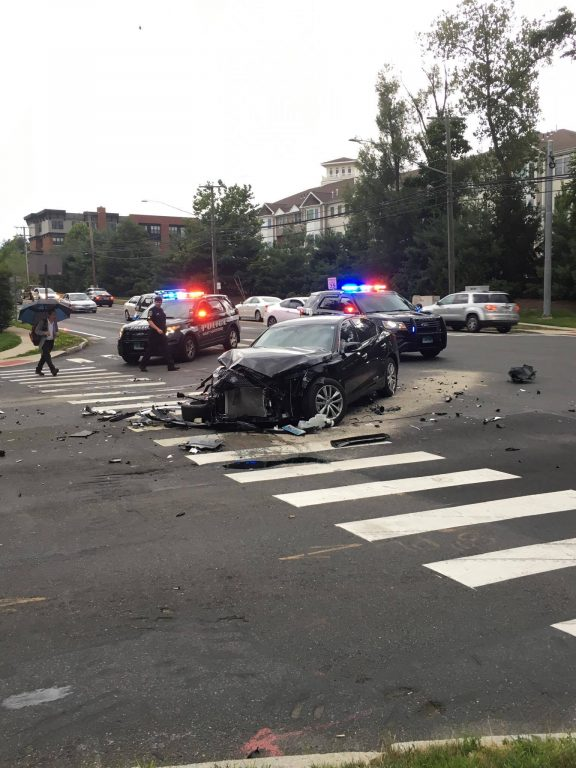 Updated] Several Injured in Multi-Vehicle Wreck at Albany Avenue and