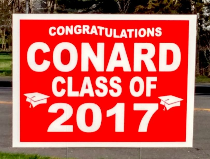 The Conard High Class Of 2017 And Safe Grad Committee Say