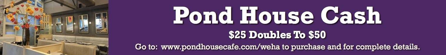 pond house leaderboard