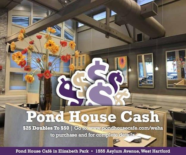 pond house cash cube