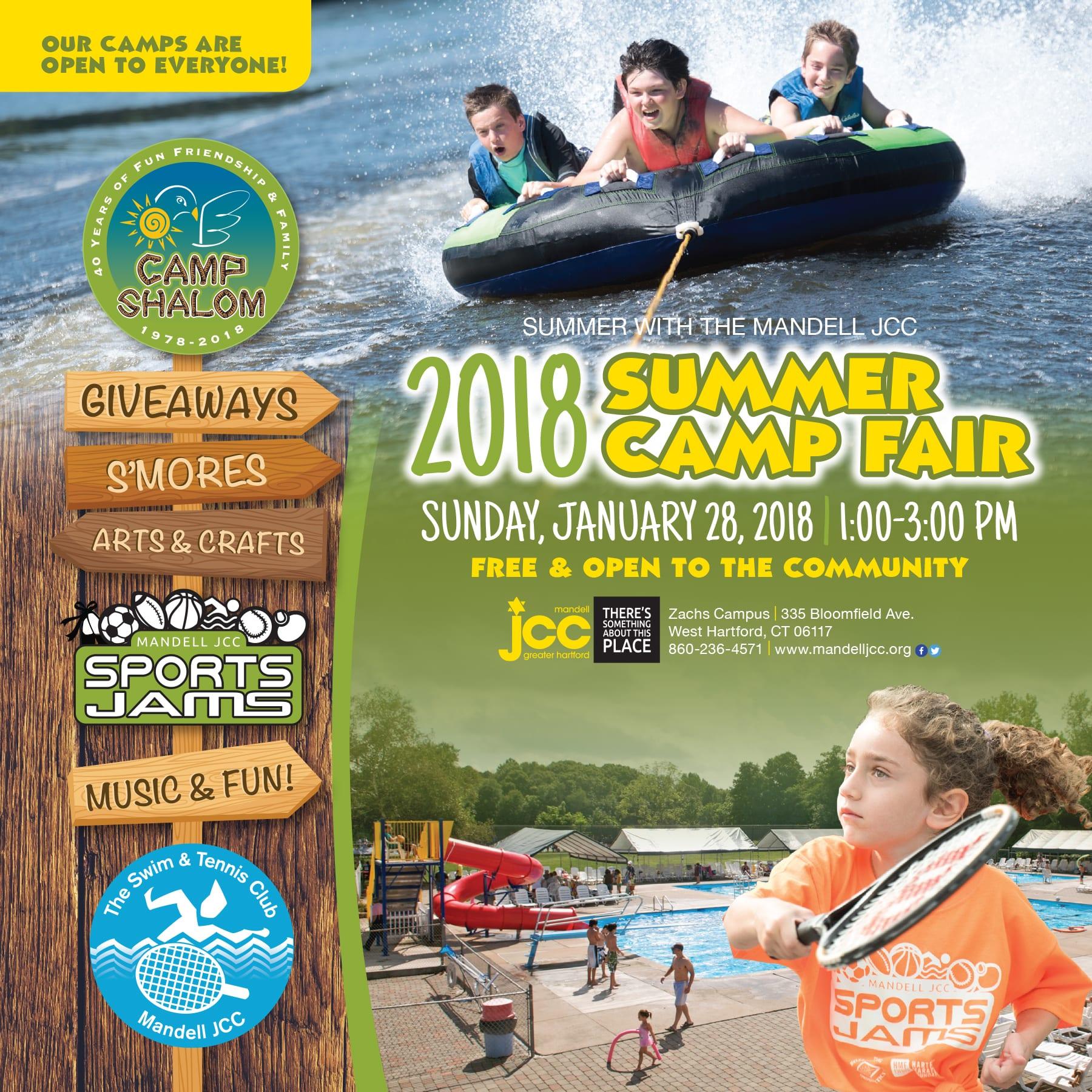 Jam Zeke: Summer Camp Fair - Open House - We-Ha