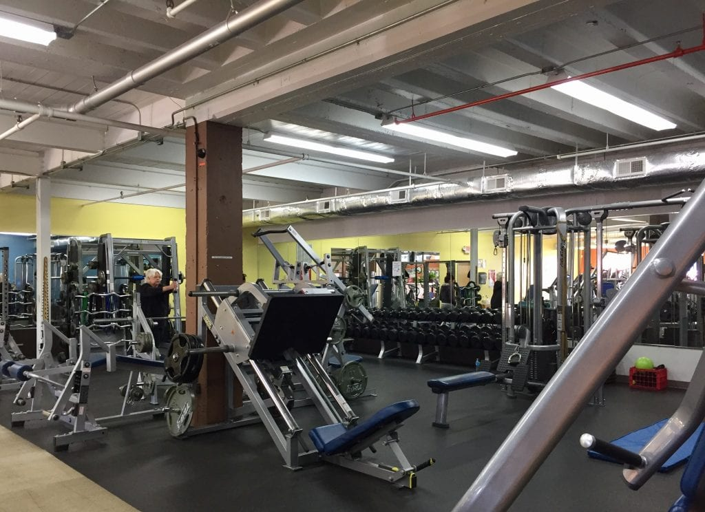 the interior of excel fitness 589 new park ave west hartford photo credit ronni newton