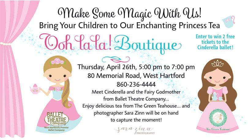 Meet and Greet with 'Cinderella' at Ooh La La Boutique in West Hartford