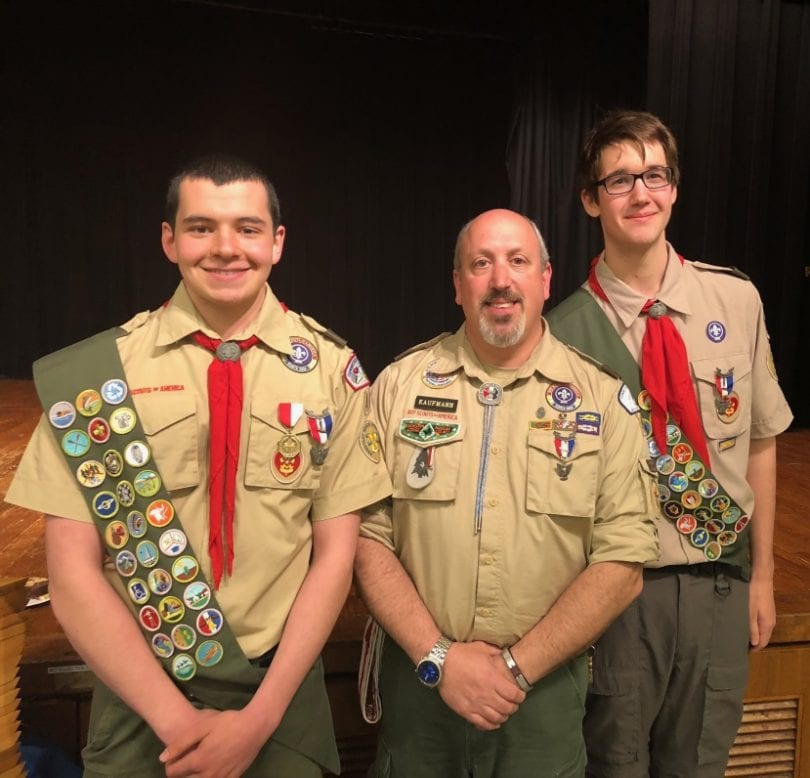 West Hartford Residents Earn Eagle Scout Rank - We-Ha | West