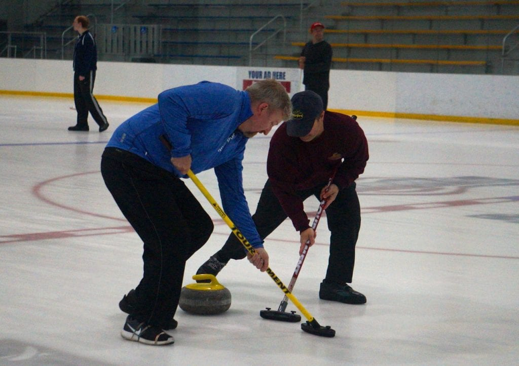 Curling Comes To West Hartford Intro League Practices At Veterans