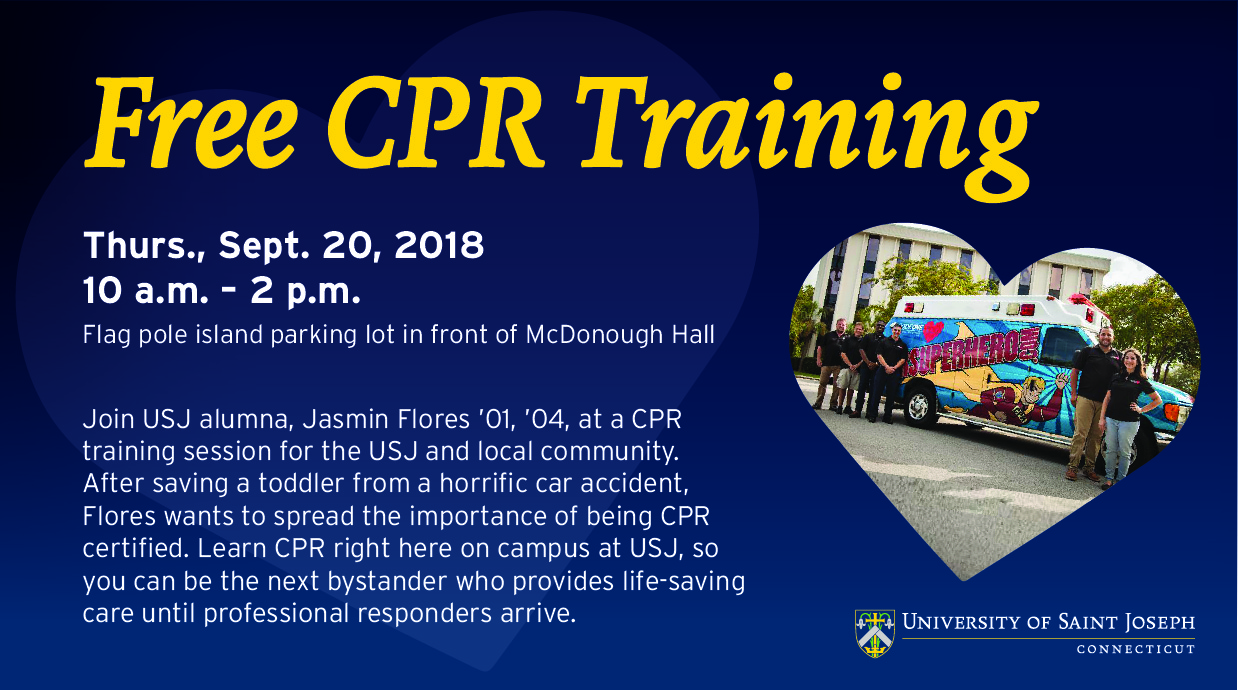Community Cpr Training Event Is Thursday At University Of Saint