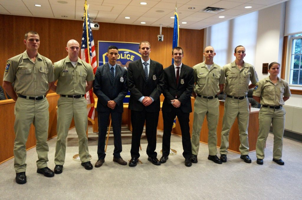 Two Conard Grads Among Group Sworn in as West Hartford