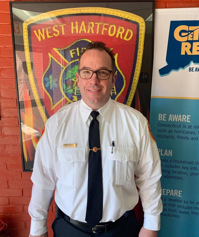 West Hartford Fire Department Names New Assistant Chief
