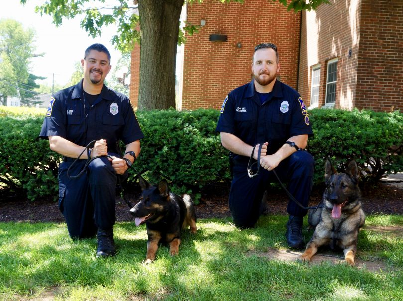West Hartford K 9 Unit To Receive Two Newly Trained Dogs