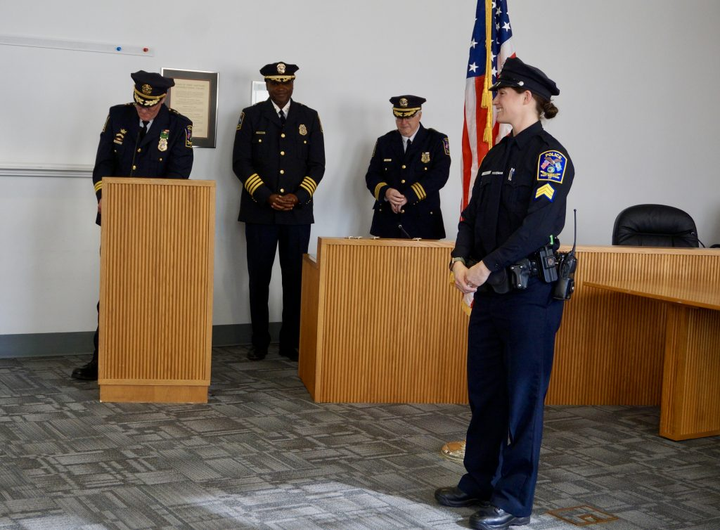 West Hartford Police Hold Promotion Ceremony - We-Ha | West
